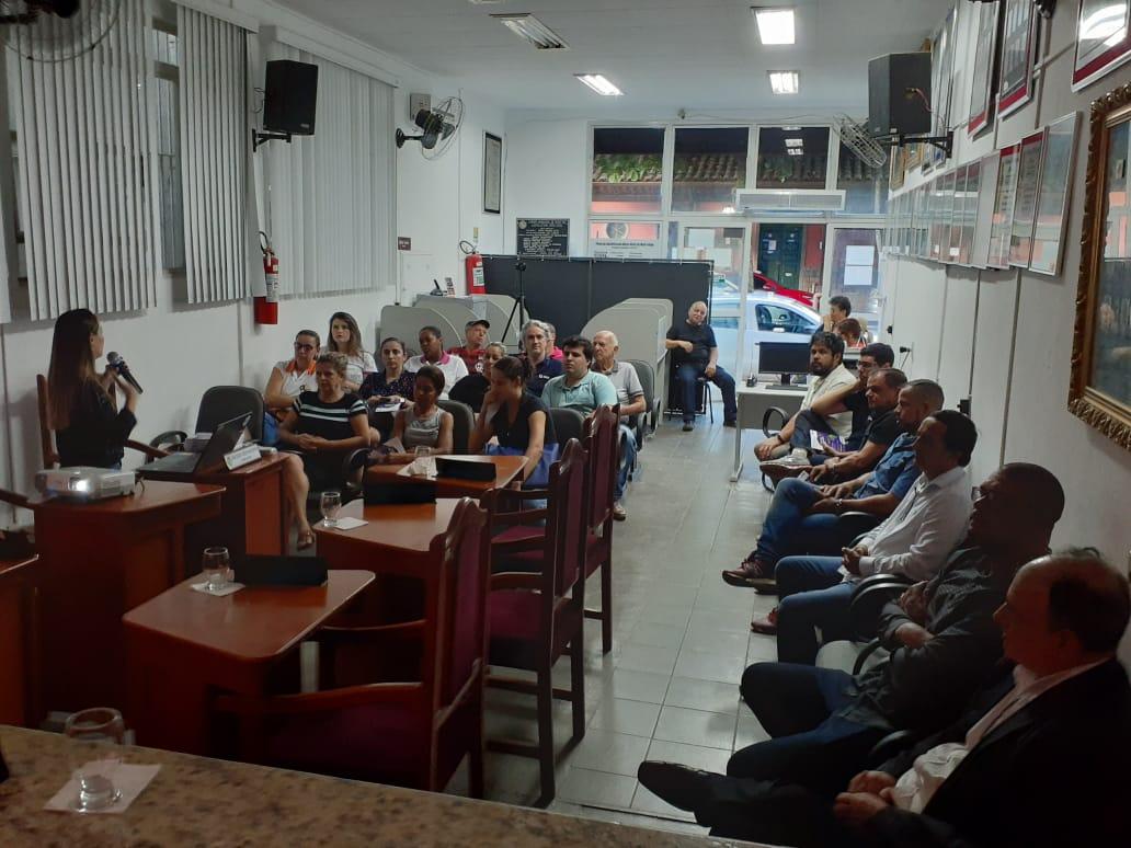 Audiência Pública realizada na sede da Câmara Municipal de Miraí.